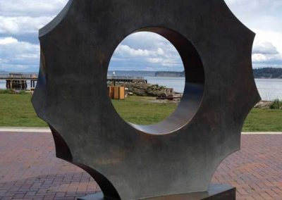 Salish Sea Circle, Pope Marine Park, Port Townsend WA 2011